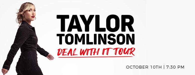 Taylor Tomlinson; Sunday, October 10   7:30 p.m.